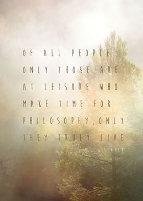 A famous quote by Seneca who still is one the three mos ...