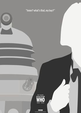 Doctor Who 50th Anniversary Posters: The 1st Doctor