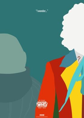 Doctor Who 50th Anniversary Posters: The 6th Doctor