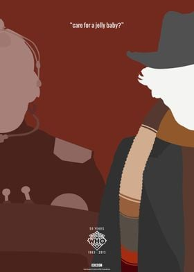 Doctor Who 50th Anniversary Posters: The 4th Doctor
