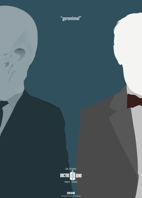 Doctor Who 50th Anniversary Posters: The 11th Doctor (G ...