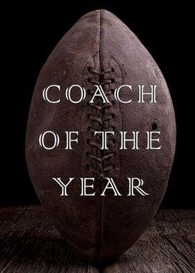Designed for awards for football coaches.  Fine art pho ...