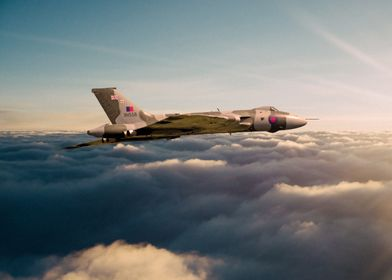 The legendary Avro Vulcan Bomber XH558