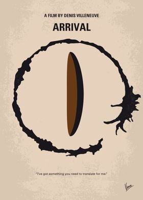 No735 My Arrival minimal movie poster When 12 mysterio ...