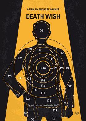 No740 My Death Wish minimal movie poster A New York Ci ...