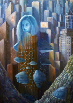 Alessandro Fantini - Fomentaria (2015), oil on canvas,  ...