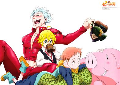 that's the anime of the seven deadly sins
