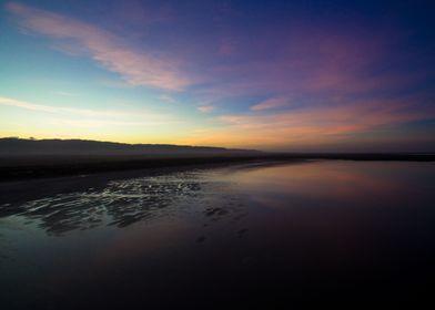 Sunrise over Telowie Beach, South Australia.