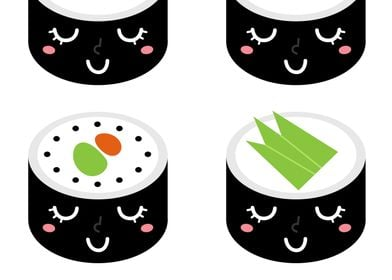 New! Sushi displates in Creative shop. SHOP cute Sushi  ...
