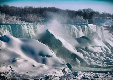 A Frozen Niagara. Taken by Ken ChambersNiagara Falls, O ...