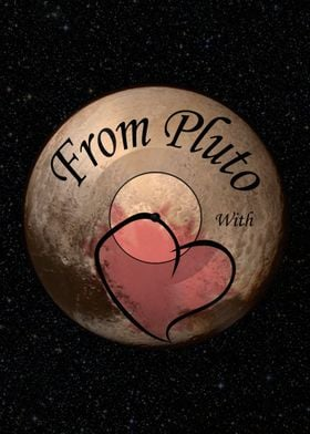 A message of love from a dwarf planet