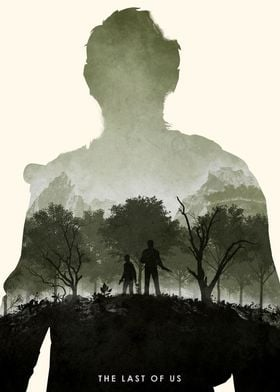 Poster design for the video game, The Last Of Us. (Re- ...