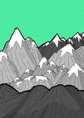 Green sky mounts
