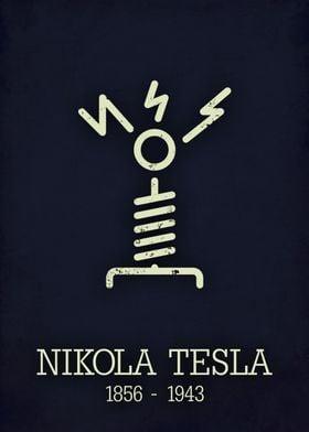 Nikola Tesla poster
