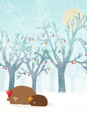 A cute winter illustration :)