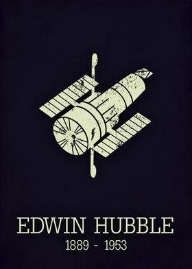 Edwin Hubble poster