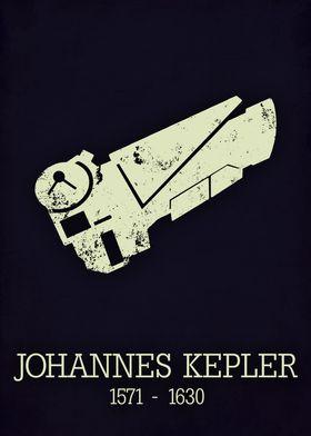 Johannes Kepler poster