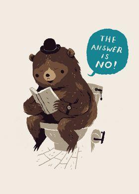 does a bear......?