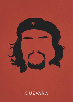 Legendary Mustaches - Che Guevara.