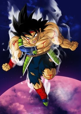 The legendary Saiyan