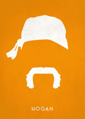 Legendary Mustaches - Hulk Hogan