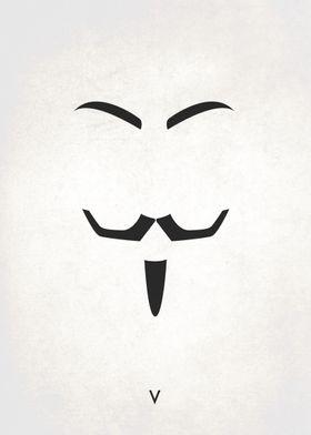 Legendary Mustaches - V's Facial Hair Mask
