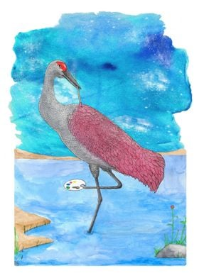Art of life series Artist Crane