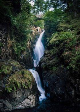 Long Exposure Waterfall Cascade