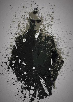 """""""Travis"""" Splatter effect artwork inspired by Travis Bic ..."""