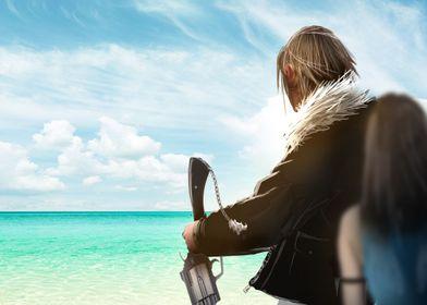 "Fan art/Concept Art of Final fantasy VIII ""I promise"" S ..."