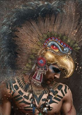 Aztec Eagle Warrior