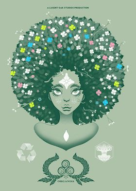 Pale Green design of the original SpringFro Bust of Tel ...