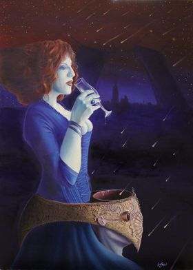 Alessandro Fantini Theorematic love, oil on canvas, 50x ...