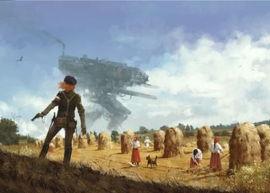 1920 - Iron Harvest painting from upcoming video game ...