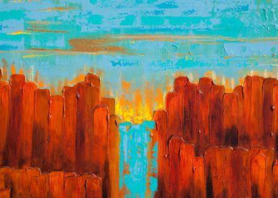 Sunset in the Kimberleys