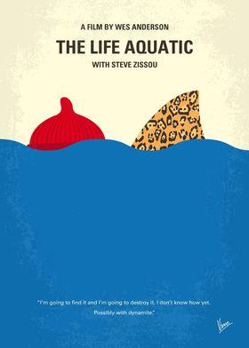 No774 My The Life Aquatic with Steve Zissou minimal mov ...