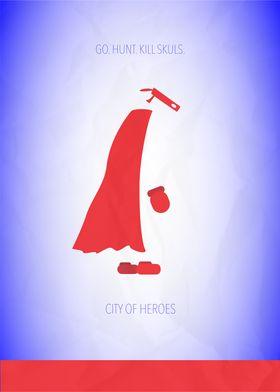 Minimalist Video Games | City of Heroes