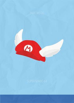 Minimalist Video Games | Super Mario 64