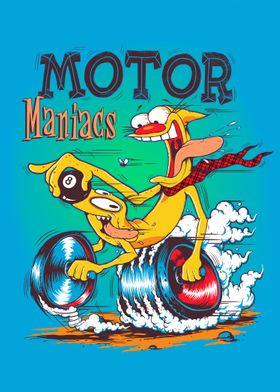 MOTOR MANIACS - Ed Roth Inspired duo.