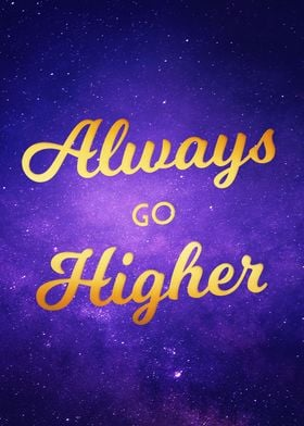 Got there? Go even higher,