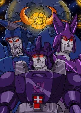 robotic heralds of an evil god.