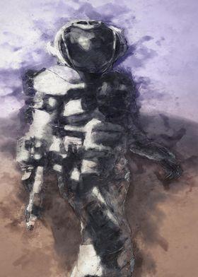 EVA planet exploration