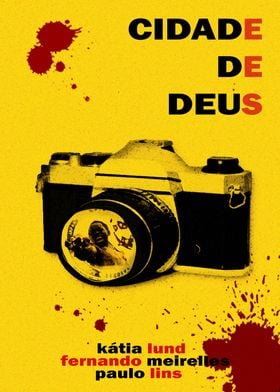 """A poster inspired by the movie """"City of God""""; from """"L""""I ..."""