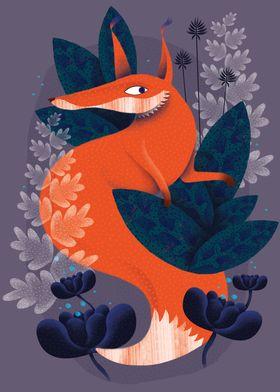 the night fox for a good sleep