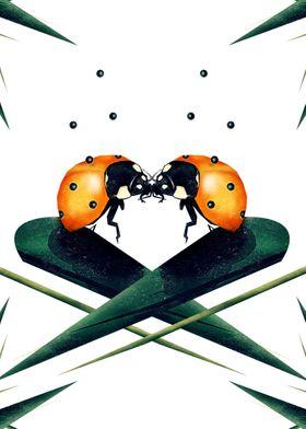 Bugs in Love | Digital Art