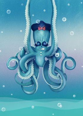 Octopus Dilemma | Digital Art, 2017