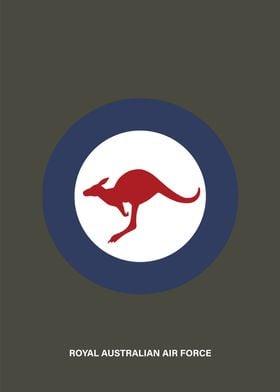 Minimalist Australian Air Force roundel. Enjoy!