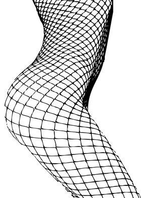 A black and white silhouette vector design