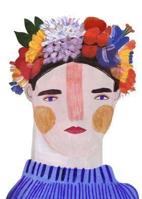 fashion illustration inspired by Eudon
