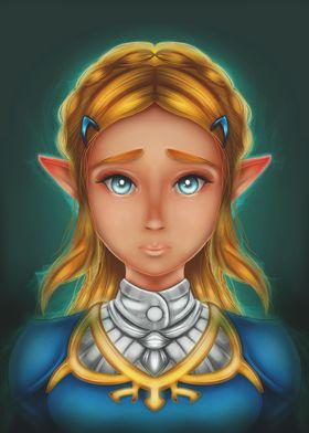 Zelda.. (Corel painter)